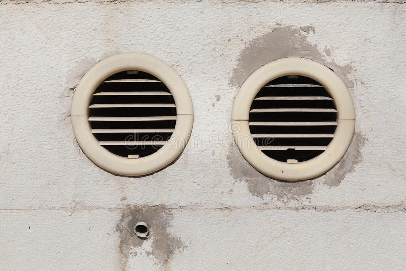 Air Vents Fixed On An Outside Wall Royalty Free Stock Image ...