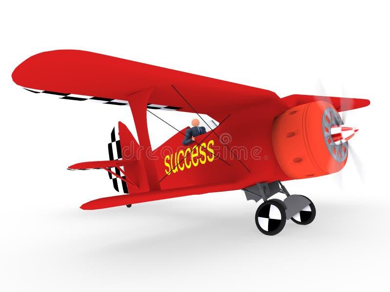 Air vol. 1 d'affaires illustration de vecteur