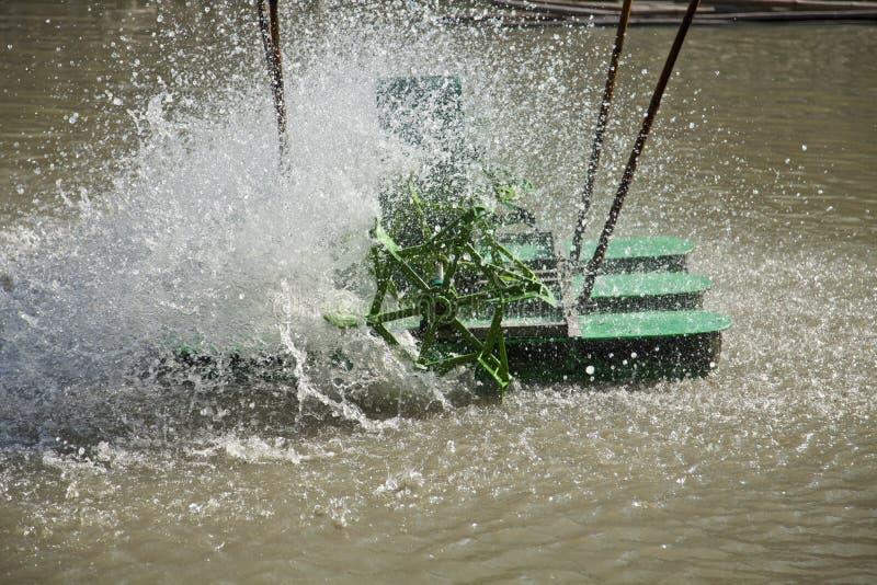 Air water turbine. royalty free stock photos