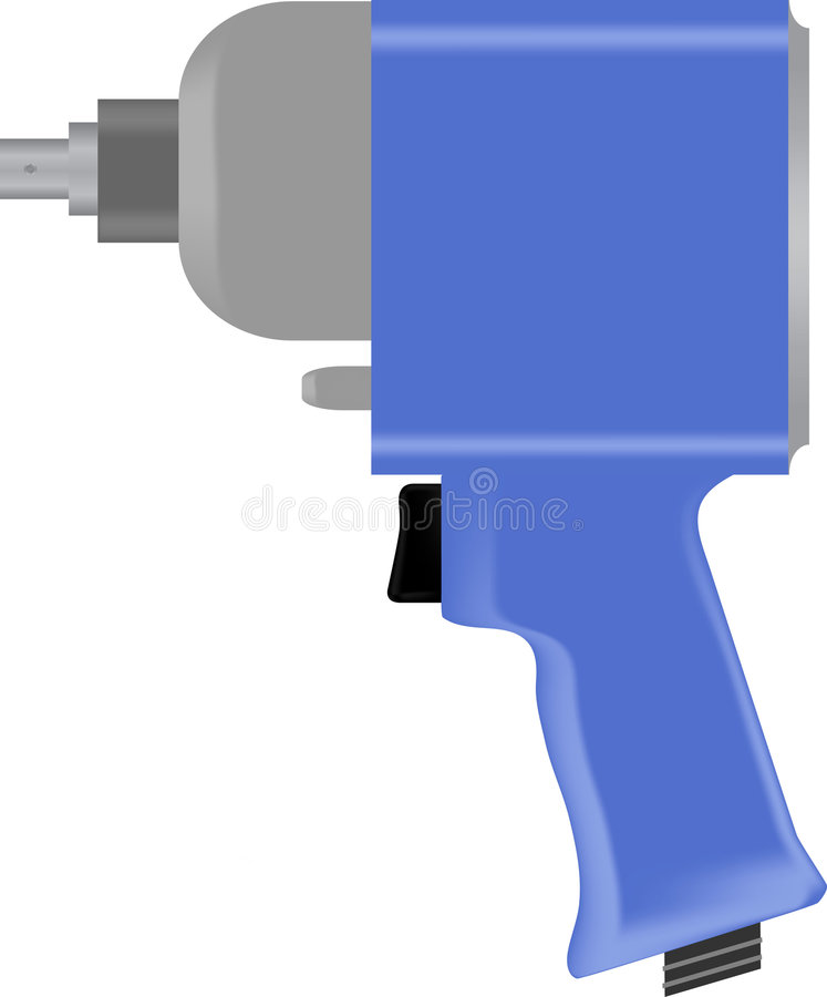 Air wrench stock photography