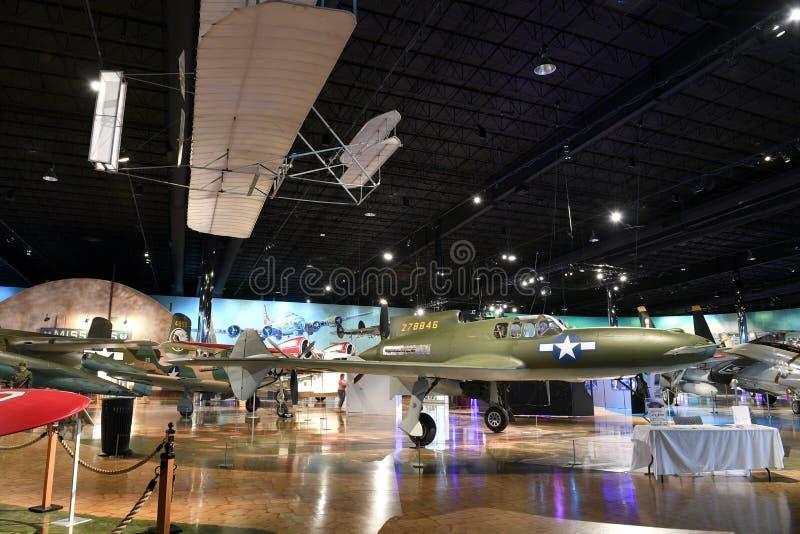 Air Zoo, Kalamazoo, Michigan. Kalamazoo, MI, USA – June 23, 2016: Aircraft on display at the Air Zoo Museum in Kalamazoo, Michigan stock images