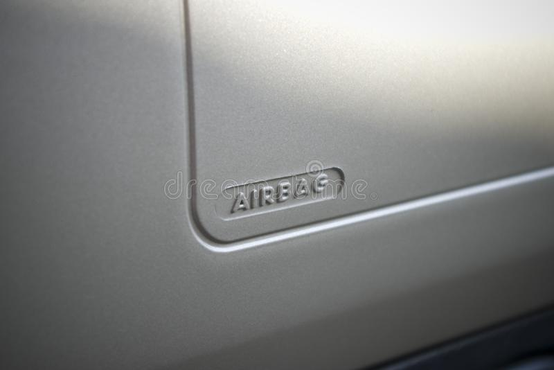 airbag royaltyfria foton