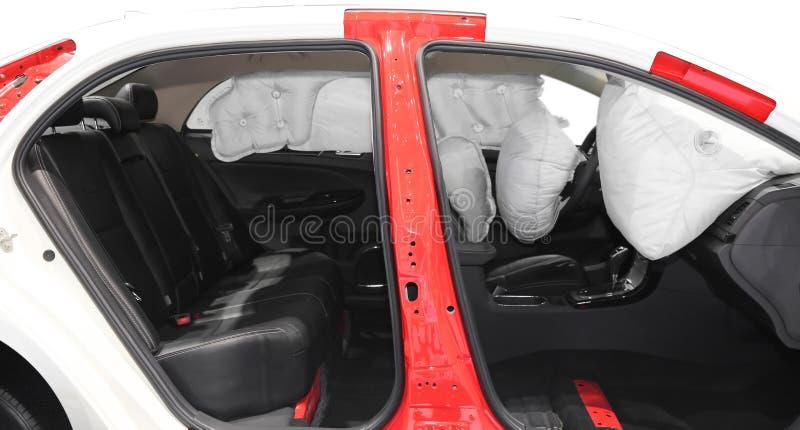 airbag obrazy royalty free