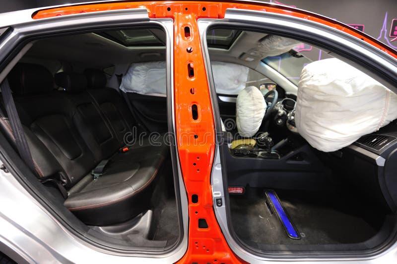 Airbag nell'automobile fotografie stock