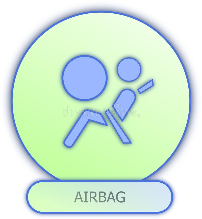 Airbag Symbol And Icon Stock Illustration Illustration Of Airbag