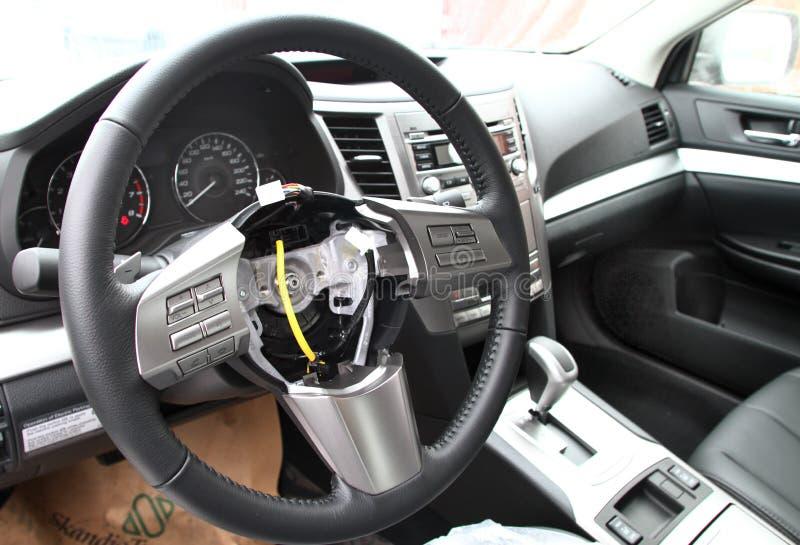 Airbags volés photos libres de droits