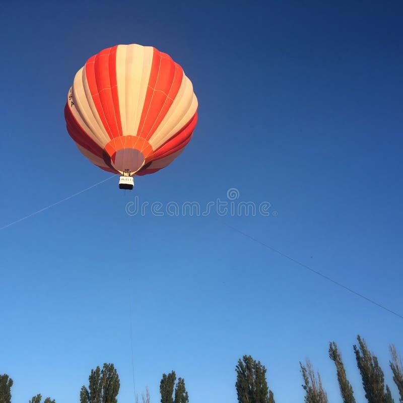 Airbaloon in Uzhgorod, Ucraina fotografie stock libere da diritti