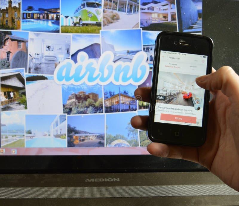 Airbnb app e portátil