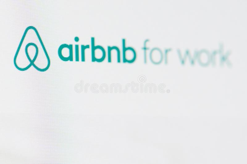Airbnb for work royalty free stock photos