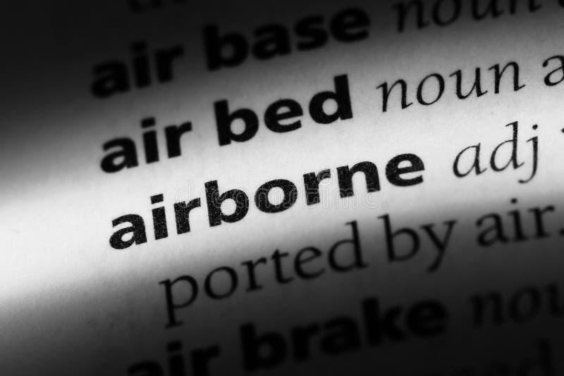 airborne stock foto