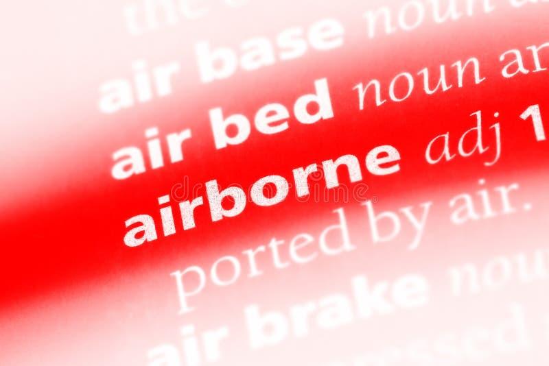 airborne stock afbeeldingen