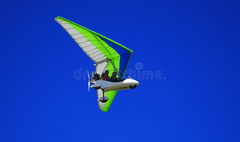 Download Airborne Glider stock photo. Image of blue, glider, motor - 2905434
