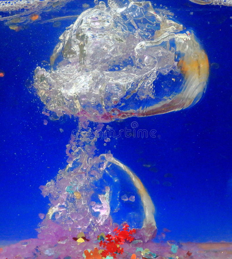 Download Airbubbles in Blue stock photo. Image of move, macro - 27246950