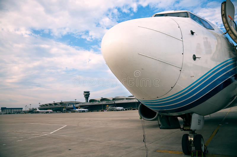 Airbus royalty free stock photography