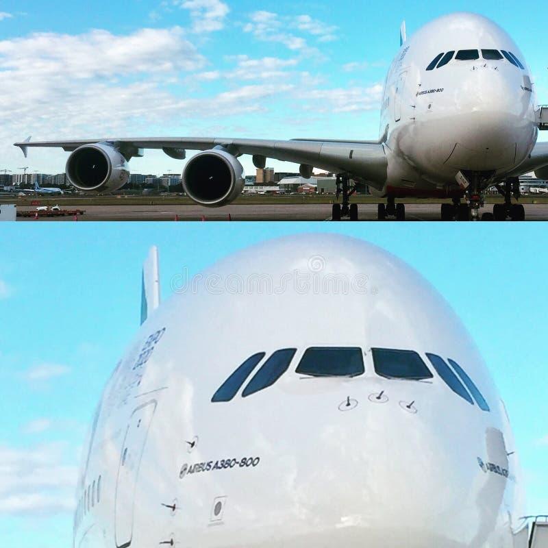 a380 Airbus obraz royalty free