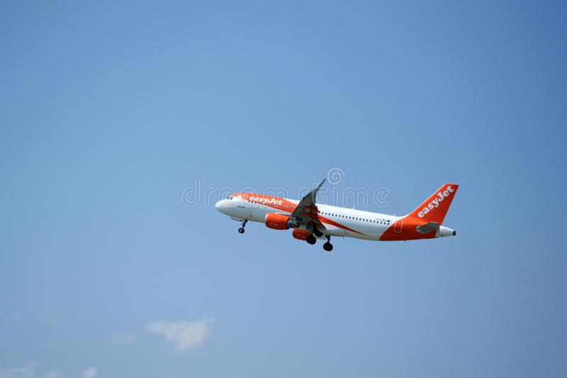 Airbus A320 photographie stock