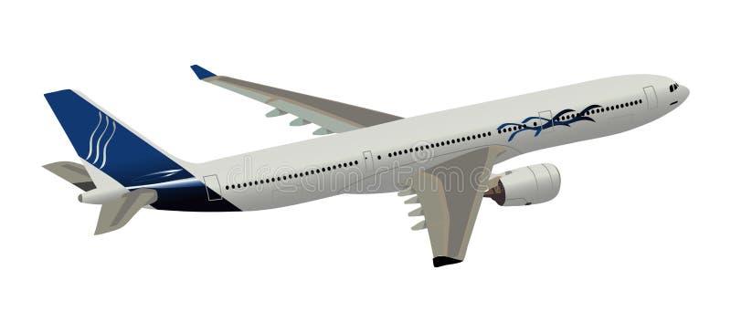 Airbus illustration libre de droits