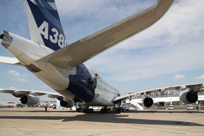 Airbus A380 στοκ εικόνες με δικαίωμα ελεύθερης χρήσης
