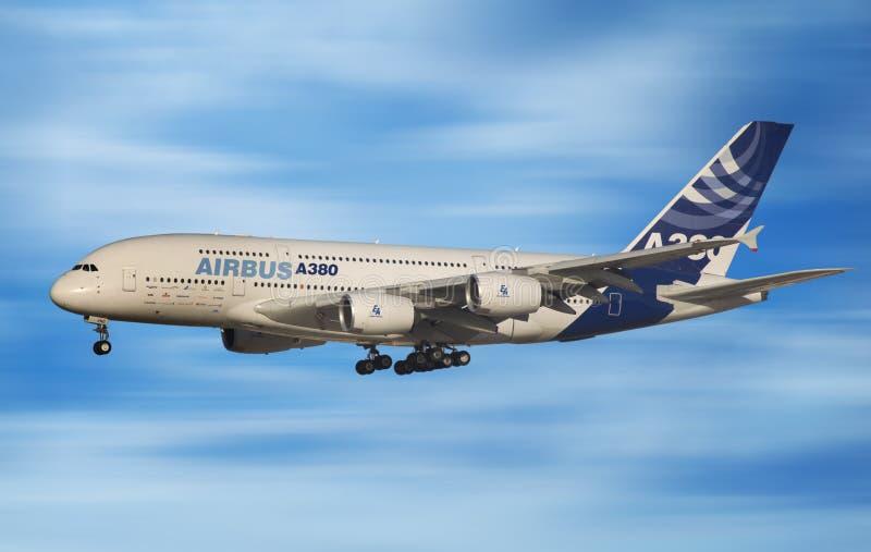 Airbus 380 immagini stock libere da diritti