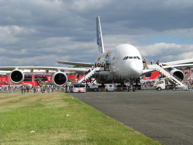 Download Airbus A 380 Editorial Stock Photo - Image: 15313868
