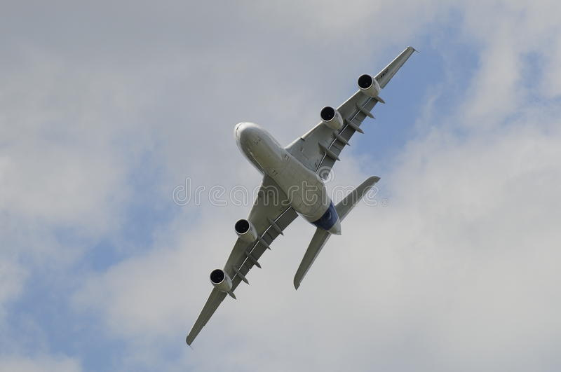 Download Airbus 380 giant stock image. Image of engine, flight - 16827591
