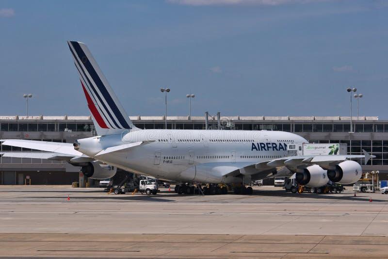 Airbus A380 photos libres de droits