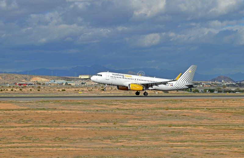 Airbus A320 imágenes de archivo libres de regalías