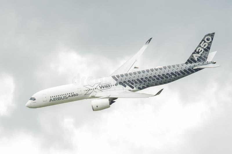 Airbus A350-941 photographie stock libre de droits