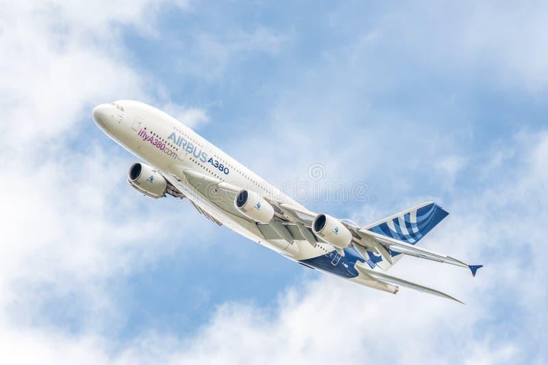 Airbus A380 photo libre de droits