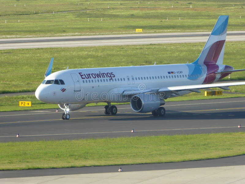 Airbus A320 lizenzfreie stockbilder