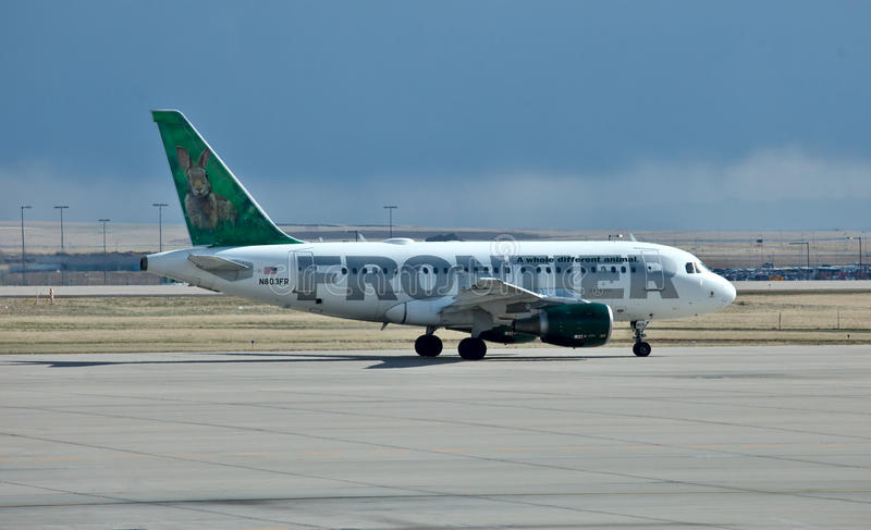 Download Airbus A319 Frontier Air Editorial Image - Image: 19305430