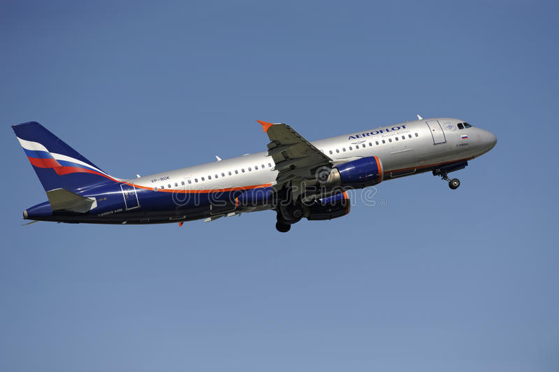 Airbus A320 image stock