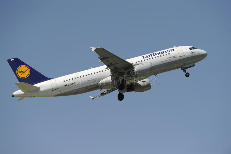 Airbus A320-200 Editorial Stock Image