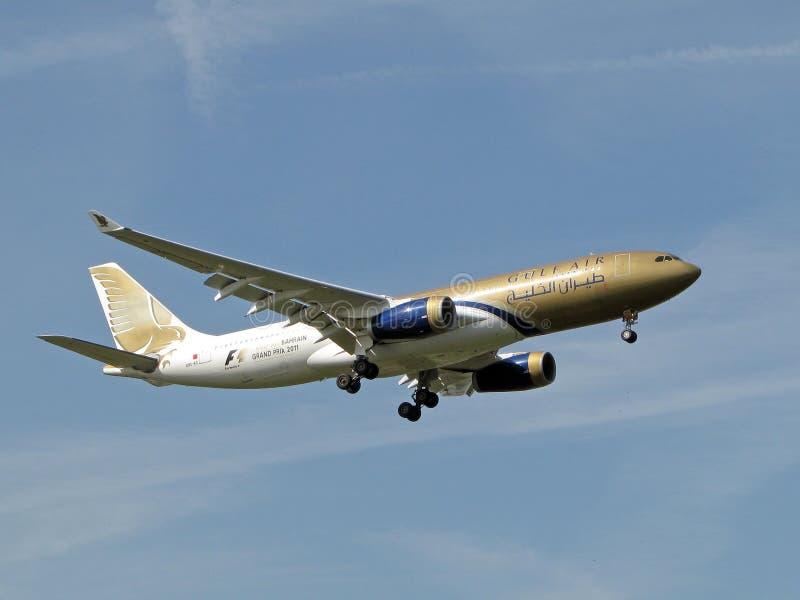 Airbus A330 Gulf Air stock photo