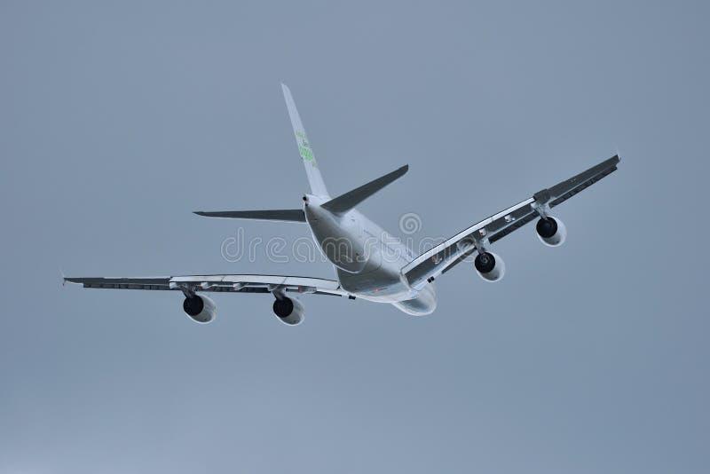 Airbus A380 Fotografia Stock Libera da Diritti