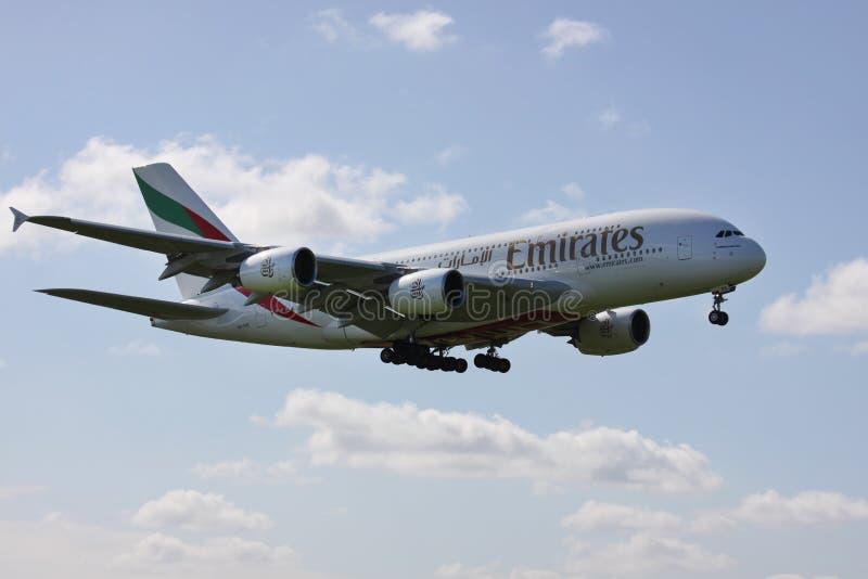 Airbus A380 fotos de stock royalty free