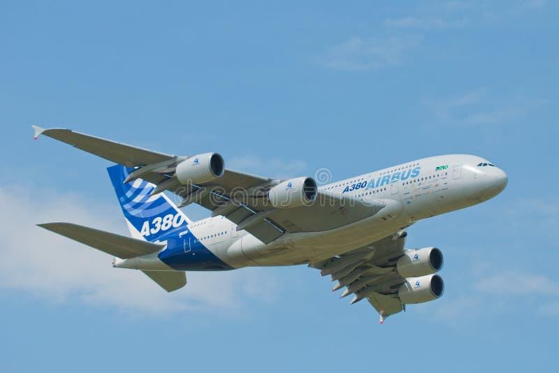 Airbus A380 photos stock