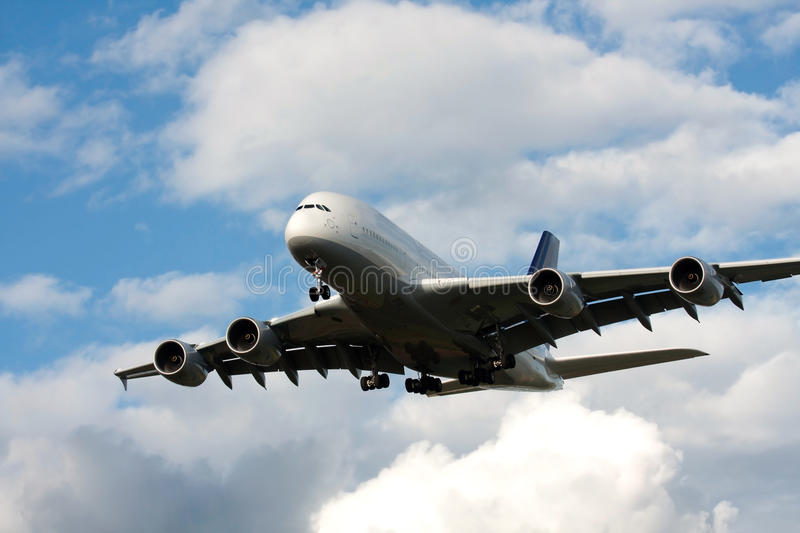 Download Airbus a380 stock photo. Image of plane, travel, transport - 17026656