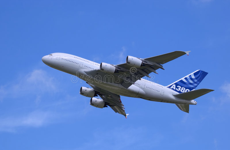 Download Airbus A380 stock photo. Image of travel, airplane, flying - 2025064