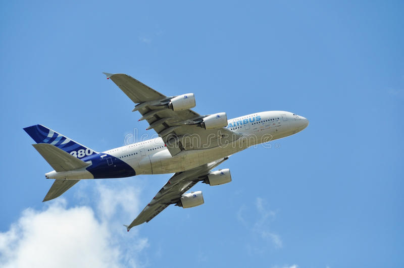 Download Airbus A380 Editorial Stock Image - Image: 20400809