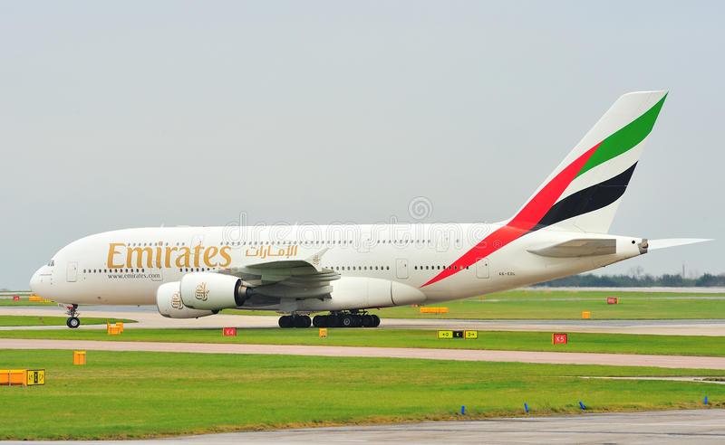 Airbus A380 images stock