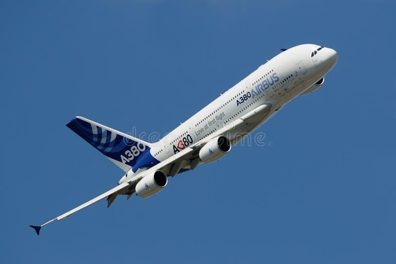 Airbus A380 image libre de droits