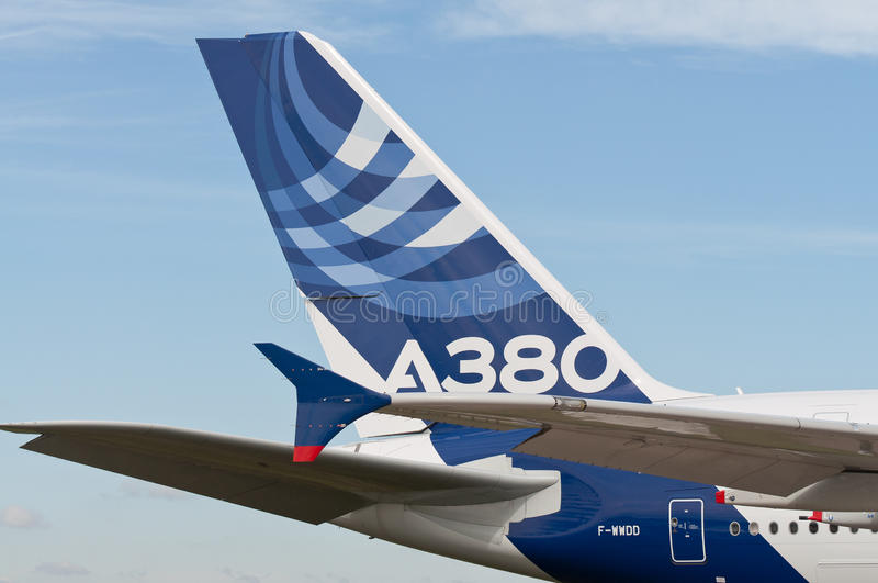 Download The Airbus A380 editorial photography. Image of blue - 24905352
