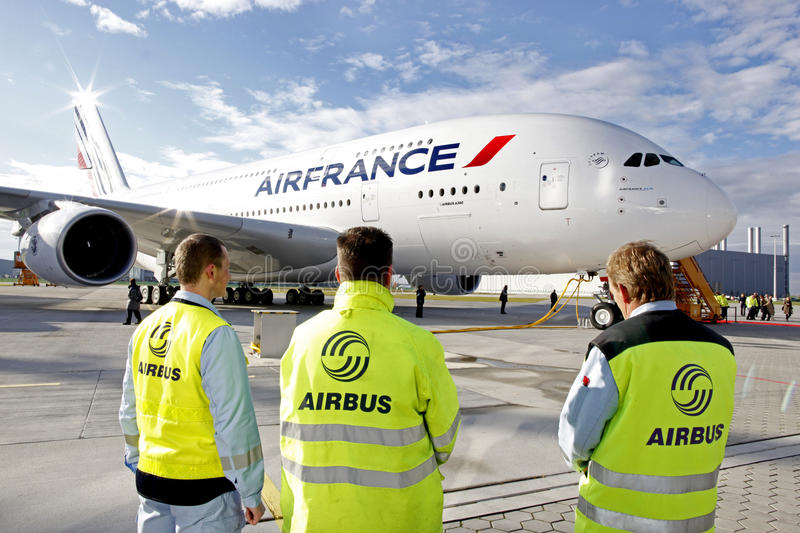Download Airbus A380 editorial image. Image of france, industry - 24929905