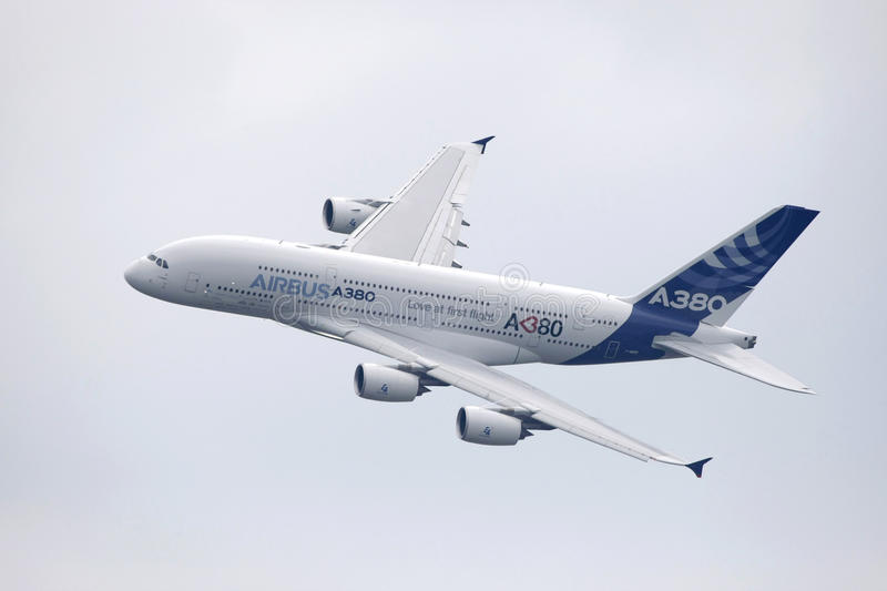 Download Airbus a380 editorial photography. Image of exhibit, european - 28869212