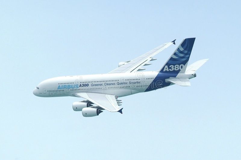 Download Airbus A380 editorial stock photo. Image of passenger - 4691993