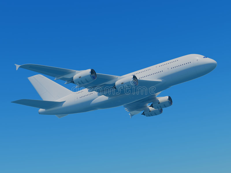 Download Airbus A380 With Clipping Path Stock Image - Image: 4813411