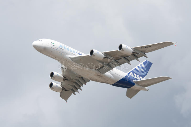 Download Airbus A380 Flypast editorial photo. Image of 2010, plane - 15280111