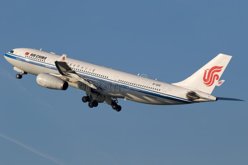 Airbus A330 from Air China royalty free stock photo