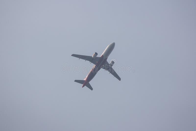 Airbus A320-200 of Airasia royalty free stock photos